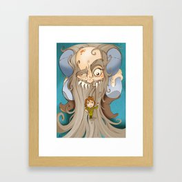 Le petit poucet Framed Art Print