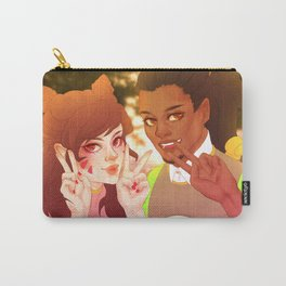 D.Va and Lucio - Music Festival Carry-All Pouch