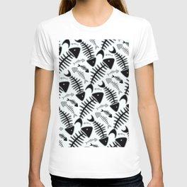Fish N' Bone Light Pattern T-shirt