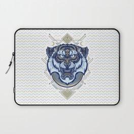 Tiger Geometric Laptop Sleeve