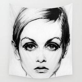 60's Eyelashes Wall Tapestry