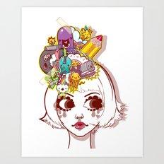 Legitimate Hat Art Print