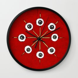 Circle of Hell Wall Clock