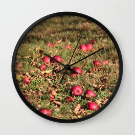 Resting Places Wall Clock