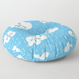 Methane Molecules And The Greenhouse Effect Floor Pillow