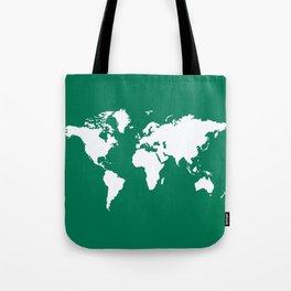 Emerald Elegant World Tote Bag