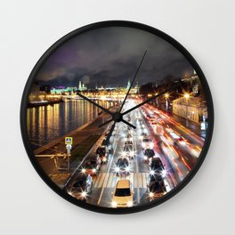 Moscow nights Wall Clock