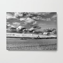 Cathedral of Agriculture. Metal Print