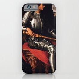 Lorenzo Medici in armor iPhone Case
