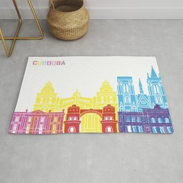Cordoba AR skyline pop Rug
