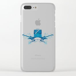 Rock Band Clear iPhone Case