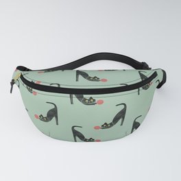 Fitz - the curious cat Fanny Pack
