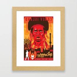 THE WARRIORS :: THE WARRIORS Framed Art Print