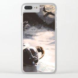 Legends Clear iPhone Case