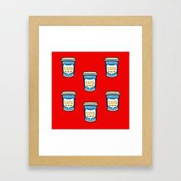 NYC Coffee Framed Art Print