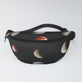 Super Moon eclipse photo collection (5-4) Fanny Pack