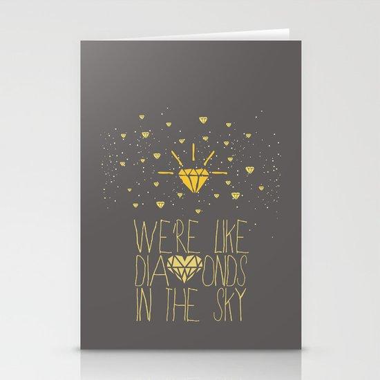 bright like a Diamond Stationery Cards