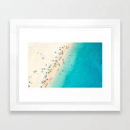 Mediterranean Dreams Framed Art Print