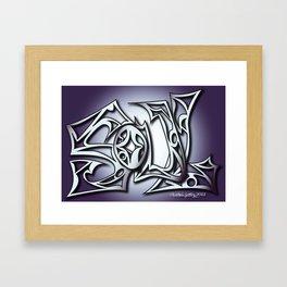 soul print Framed Art Print