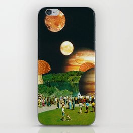 Fungi Waterfalls iPhone Skin