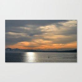 Morning tints Canvas Print