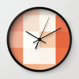 Colorscape: Grapefruit Wall Clock