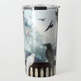 The crow and the dove Travel Mug