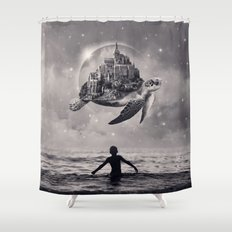 Moments of Bliss Shower Curtain