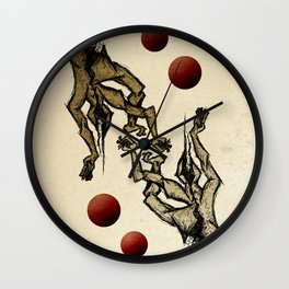 Jugglers Wall Clock