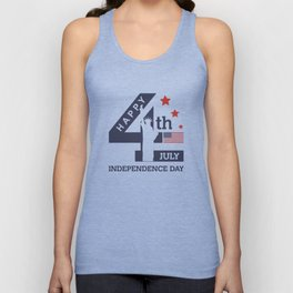 Happy Independence Day #1 Unisex Tank Top