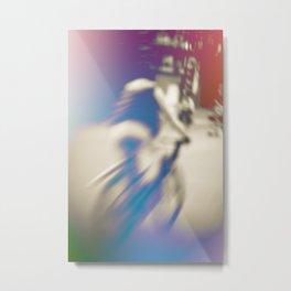 Color bike Metal Print