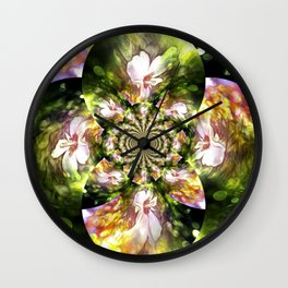 Magical Inspirations Of Spring Time Wall Clock