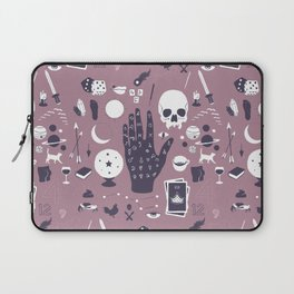 Methods of Divination - Purple Laptop Sleeve