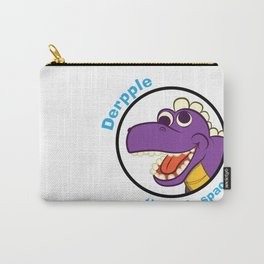 Derpple the Dinosaur Carry-All Pouch