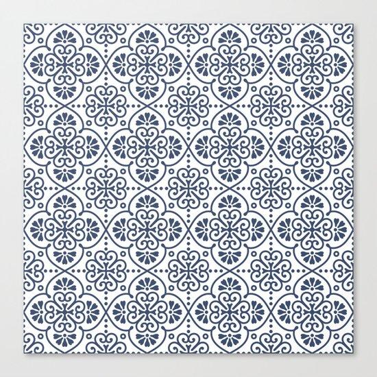 Pattern Portugal Canvas Print