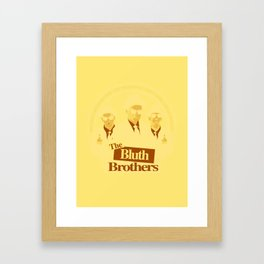 The Bluth Brothers Framed Art Print