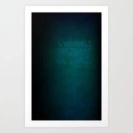 Wrinkle In Time: Book Cover Redesign Art Print