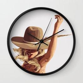 Smoke 'Em All Wall Clock
