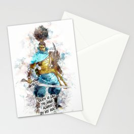 Death is like the Wind Stationery Cards