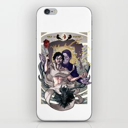 Designing Will Graham iPhone Skin