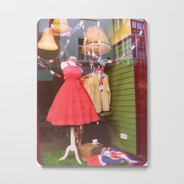 A Nation of Shopkeepers Metal Print