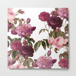 pinky roses Metal Print