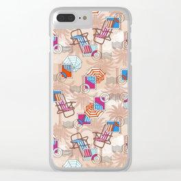 Beach, Please... Clear iPhone Case