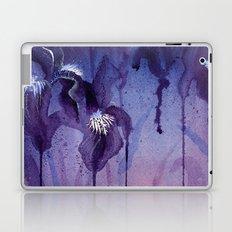 Iris, Blue and Purple Flowers Laptop & iPad Skin