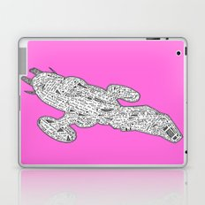 PINK Fire Fly Laptop & iPad Skin