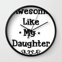 Dad Father's Day Gift Daddy Stepdad Wall Clock