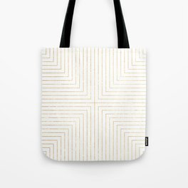 Converge Three Gold Tote Bag