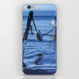 Ice, drippin' back into water iPhone Skin