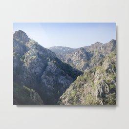 Soaring Mountains Metal Print