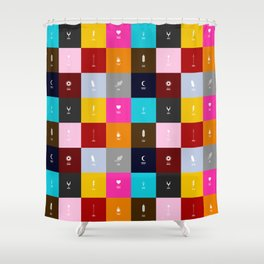 Demigods group Shower Curtain